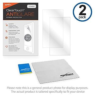 Garmin Forerunner 235 Screen Protector, BoxWave [ClearTouch Anti-Glare (2-Pack)] Anti-Fingerprint Matte Film Skin for Garmin Forerunner 235