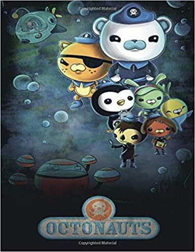 Exclusive Illustrations Coloring Book For Kids Octonauts
