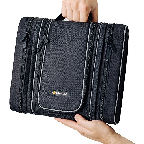 Travel Toiletry Bag - Hanging Cosmetic Organizer for Men | M