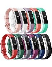 Onedream Compatible pour Bracelet Fitbit Alta (HR) Ace Femme Homme Remplacement Sport, S/L