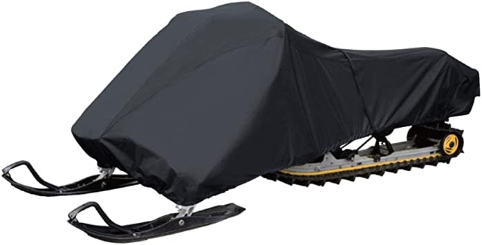 "Non-scratch Hood Liner /& Elastic Cord for Custom Fit 138/"" Universal Heavy-Duty Snowmobile Cover with Dual Air Vents Pyle PCVSNM14 Waterproof /& Weather Resistant Marine Grade Polyester Fabric"