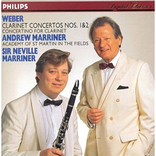 Weber: Clarinet Concertos 1 & 2, Op 73 & 74 / Concertino for Clarinet, Op 26