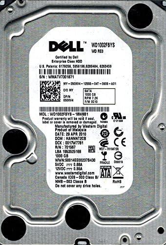 Western Digital WD1002FBYS-18W8B1 1TB DCM HANNNT2CB