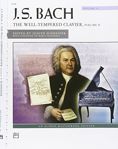 - The Well-Tempered Clavier, Vol. 2 (Alfred Masterwork Edition)