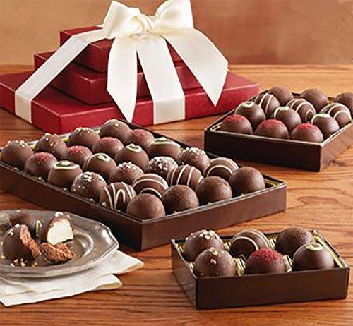 (Harry and David Dark Chocolate Truffle Trio)