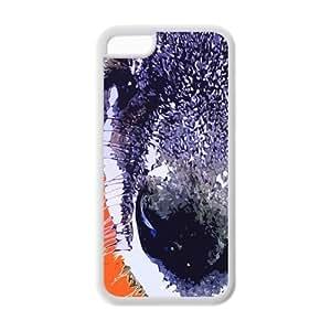 Fashion Kangaroo Rubber TPU Case Cover For IPhone 5C (Kangaroo) by lolosakes