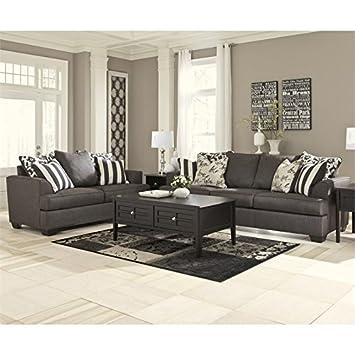Amazon.com: Ashley Furniture Signature Design Levon 2 Piece ...