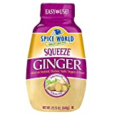 Spice world squeeze ginger 22.75 oz (1.42 lbs)