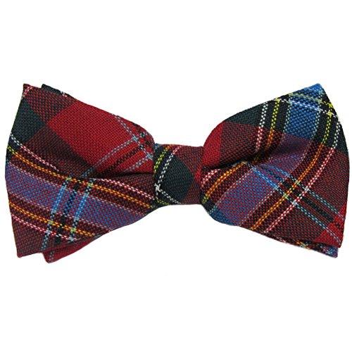 Mens Mens MacLean Duart Tartan Pre-Tied Bow Tie
