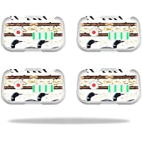 Skin For DJI Phantom 3 Drone Battery (4 pack) – Lodge Stripes | MightySkins Protective, Durable, and Unique Vinyl Decal wrap cover | Easy To Apply, Remove, and Change Styles | Made in the USA