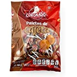 Coronado Cajeta Lollipops Limited edition (40 Pieces in bag) made with goat milk caramel super tasty mexican candy…