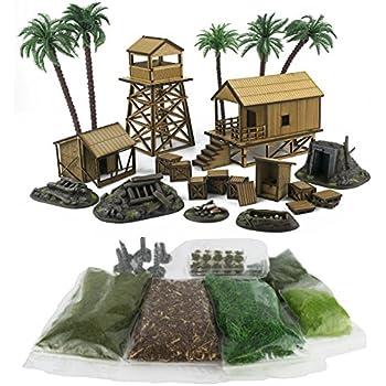 Amazon Com Wwg Jungle Warfare Kit 5 Mdf Amp Resin