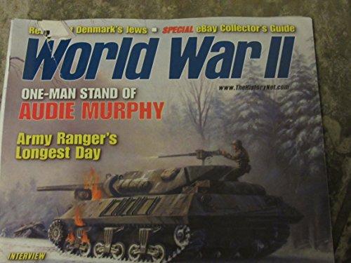 World War II magazine - May 2002 - Audie Murphy - Army Rangers - Flying Tigers Nurse - HMS Seal