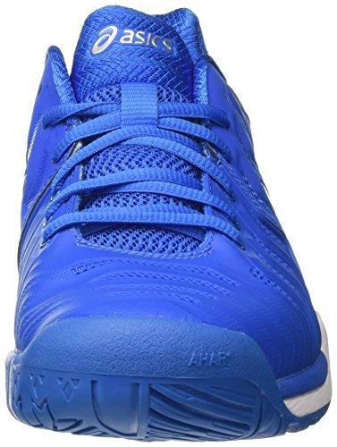 Homme silver Asics directoire white Bleu Tennis 7 Chaussures Blue resolution Gel De vwSxvOq