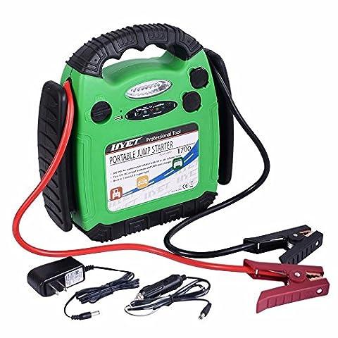 Goplus 12V Portable Battery Jump Starter Air Compressor Car Booster Jumper (Air Compressor Jumper)