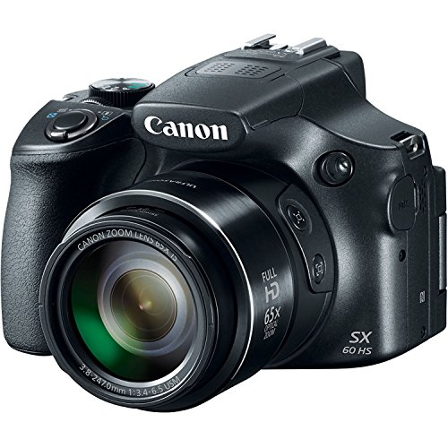 Canon Powershot SX60 16.1MP Digital Camera 65x Optical Zoom Lens...