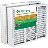FilterBuy 20x25x5 Honeywell FC100A1037 Compatible Pleated AC Furnace Air Filters (Pack of 2). AFB Gold MERV 11.