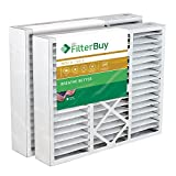 Kyпить FilterBuy 20x25x5 Honeywell FC100A1037 Compatible Pleated AC Furnace Air Filters (Pack of 2). AFB Gold MERV 11. на Amazon.com