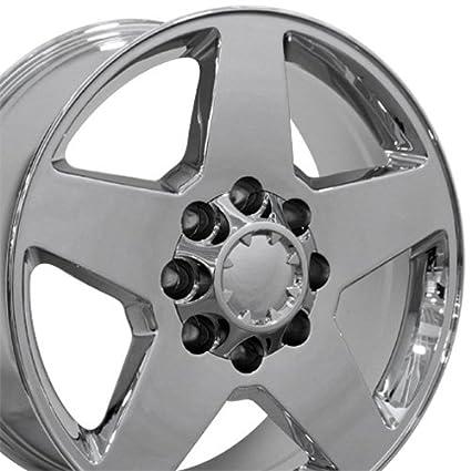 Oe Wheels 20 Inch Fits Chevy Silverado 2500hd 3500hd Gmc Sierra 2500hd 3500hd 8x180 Heavy Duty Silverado Style Cv91b Chrome 20x8 5 Rim Hollander 5503