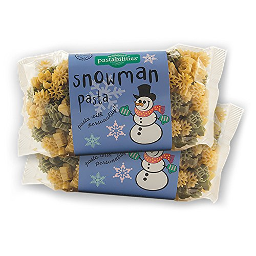 Pastabilities - Snowman Pasta - 14 oz. (Pack of - Cheese Snowman