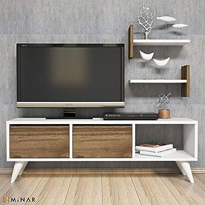 MINAR by Homemania Puerto TV, Mueble para la televisión Flor ...