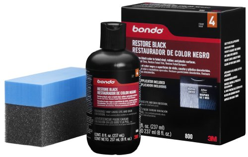 Bondo 800 Black Restore fl