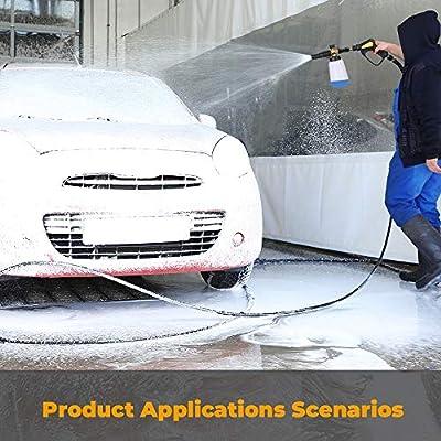 Pistola de agua de lavado de coches De alta presión de lavado de ...