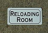 (US) RELOADING ROOM Vintage Style Metal Sign Decor
