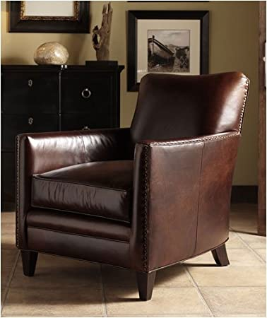 Genial Bradington Young 801   25 Giovanni Leather Club Chair