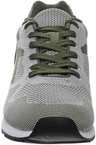 Diadora V7000 Weave Herren Beige Textil Athletic Lace Up Laufschuhe Grüne Olivina