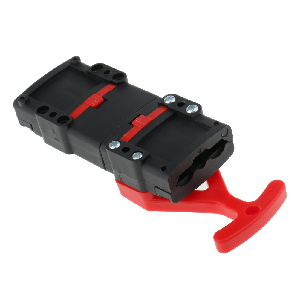 MonkeyJack Battery Quick Connect Wire Harness Disconnect Forklift Connector with Handle