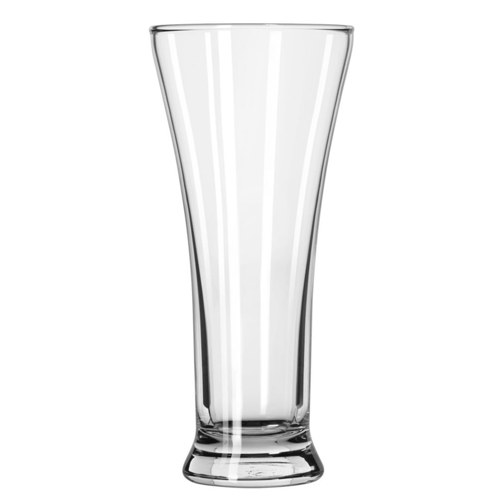 Libbey 1240HT Flare Pilsner 10 Ounce Pilsner Glass - 36 / CS