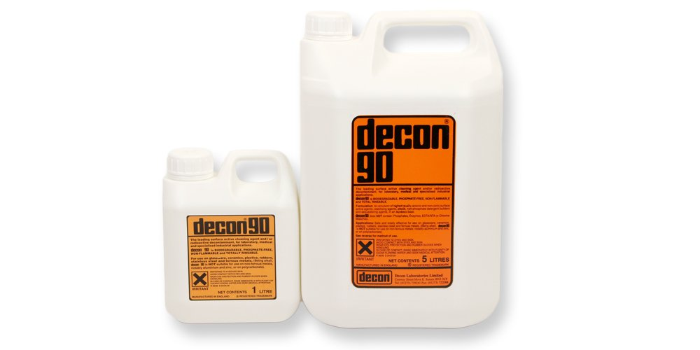 Decon 90 - cleaning agent for laboratory, medical and industrial applications - 5 Litre