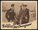 Kid Courageous 1935 ORIGINAL MOVIE POSTER Action Western - Dimensions: 11