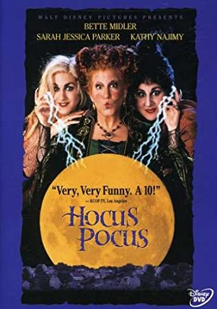 You're in for a devil of a time when three outlandishly wild witches -- Bette Midler (BEACHES, BIG BUSINESS), Sarah Jessica Parker (HONEYMOON IN VEGAS), and Kathy Najimy (SISTER ACT) -- return from 17th-century Salem after they're accidentally conjur...