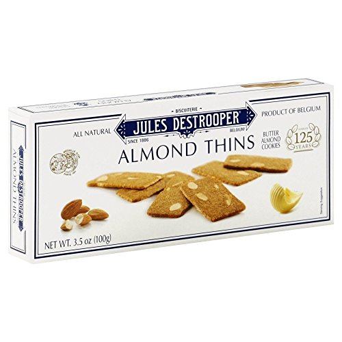 - Jules Destrooper Cookie Thin Almond (Pack of 4)