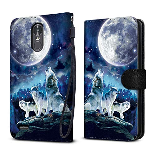 Top lg stylo 3 case wallet wolf for 2020