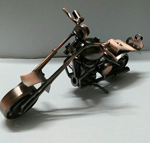 Good News Handcrafted Metal Motorcycle Retro Classic Iron Mo