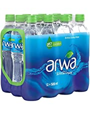 Arwa Bottled Drinking Water - 500 ml (Pack of 12)