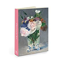 National Gallery of Art Flowers In Art Notecard Wallet with Envelopes, 4.5 x 6-Inches, Pack of 12 Cards (NGANW04)