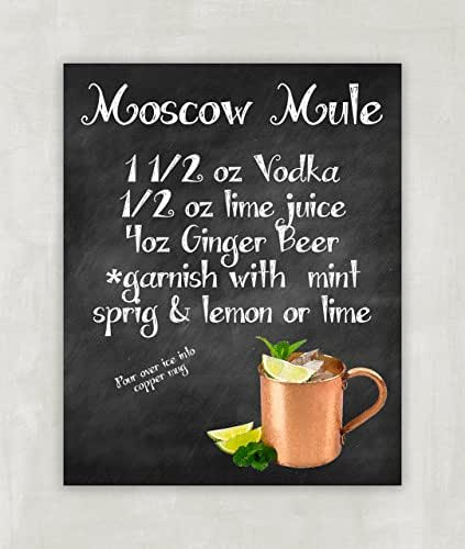 Impertinent image regarding moscow mule recipe printable