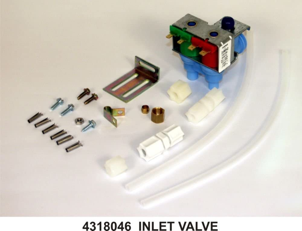 Whirlpool 4318046 Refrigerator Water Inlet Valve Genuine Original Equipment Manufacturer (OEM) Part