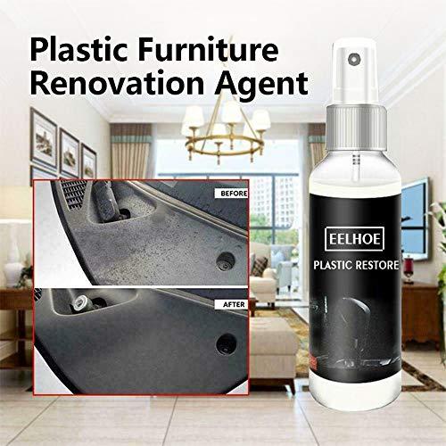 Huahua Car Plastic Parts Retreading Agent, Automotive Interior Maintenance Cleaner Leather Curing,Auto Detailing & Restoration