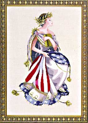 Queen of Freedom - Cross Stitch Pattern
