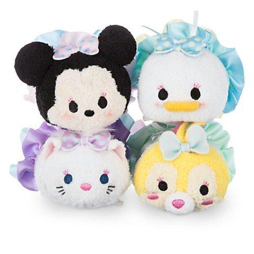 Disney Minnie Mouse and Friends Dressy ''Tsum Tsum'' Plush S
