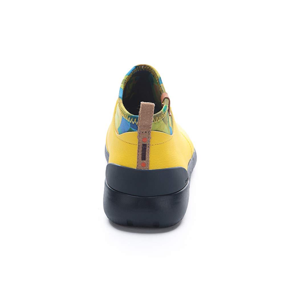 UIN Womens Microfiber Travel Sneaker Walking Shoes Canberra