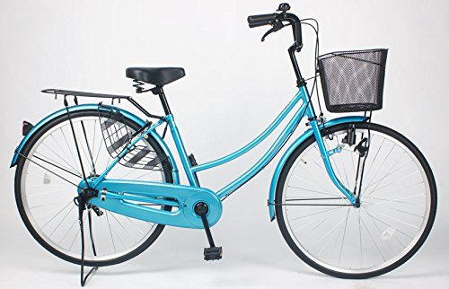 21Technology 【MC260-N】ママチャリ 自転車 26インチ B01N3CWNJF ブルー ブルー