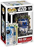 Star Wars Smuggler's Bounty Exclusive R2-D2 on Jabba's Skiff Funko Pop #121