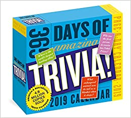 Amazon.com: 365 Days of Amazing Trivia! Page-A-Day Calendar ...