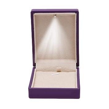 Amazon Com Topind Pendant Box Jewelry Case Organizer With Led